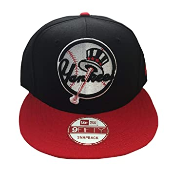 New York Yankees New Era 950 gorra en negro; Mid: 70331182: Amazon ...