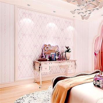 XPY-Wallpaper Calda Rosa Arco Non Tessuto Camera da Letto a ...
