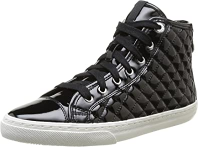 Geox D New Club A, Sneakers Hautes Femme