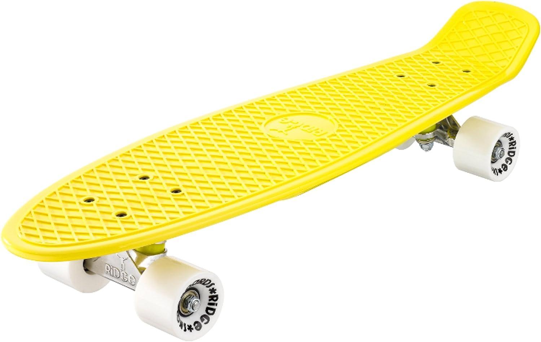 Ridge Skateboard Big Brother Nickel 69 cm Mini Cruiser lila//klar
