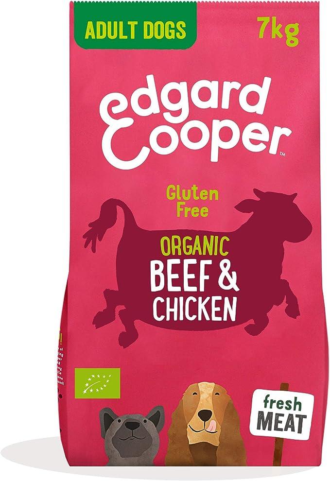 Edgard & Cooper pienso para Perros Adultos sin Gluten, Natural con tenera y Pollo de Corral ecológicos, 7kg. Comida balanceada sin harinas de Carne ni ...
