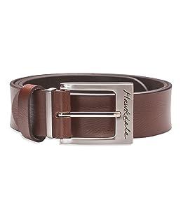 "Hawkdale Mens Full Grain Leather Belt - 1 Inch Smart Trouser Suit - Black, Brown # 809-400 [Brown] [Large - 36"" - 40"" (90-102 cm)]"