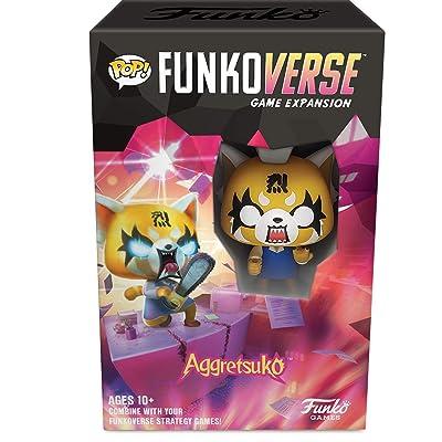 Funko Pop! Funkoverse: Aggretsuko Expansion, Multicolor, (Model: 45891): Toys & Games