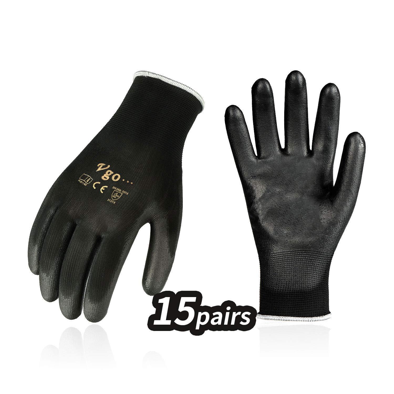 talla 7 Guante MaxiFlex Ultimate con tecnolog/ía Ad-Apt color gris//negro ATG 42-874
