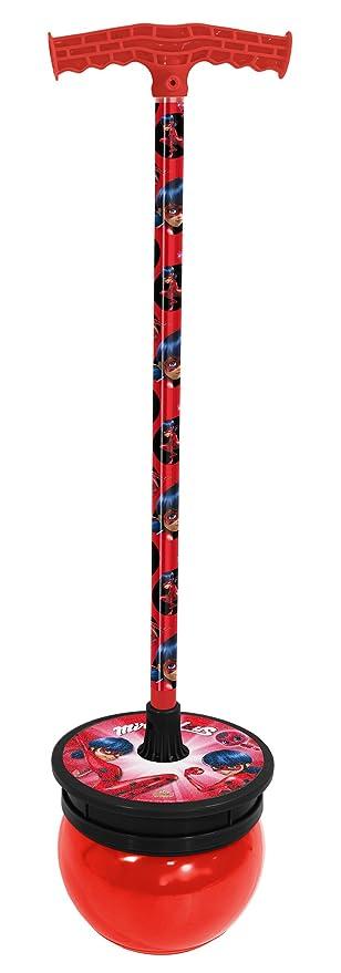 Ladybug- Saltador, Color Rojo y Negro (Saica 5818): Amazon ...