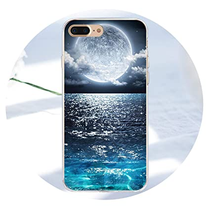 Amazon.com: Space Star - Carcasa para iPhone X 5 5S SE 6 6S ...