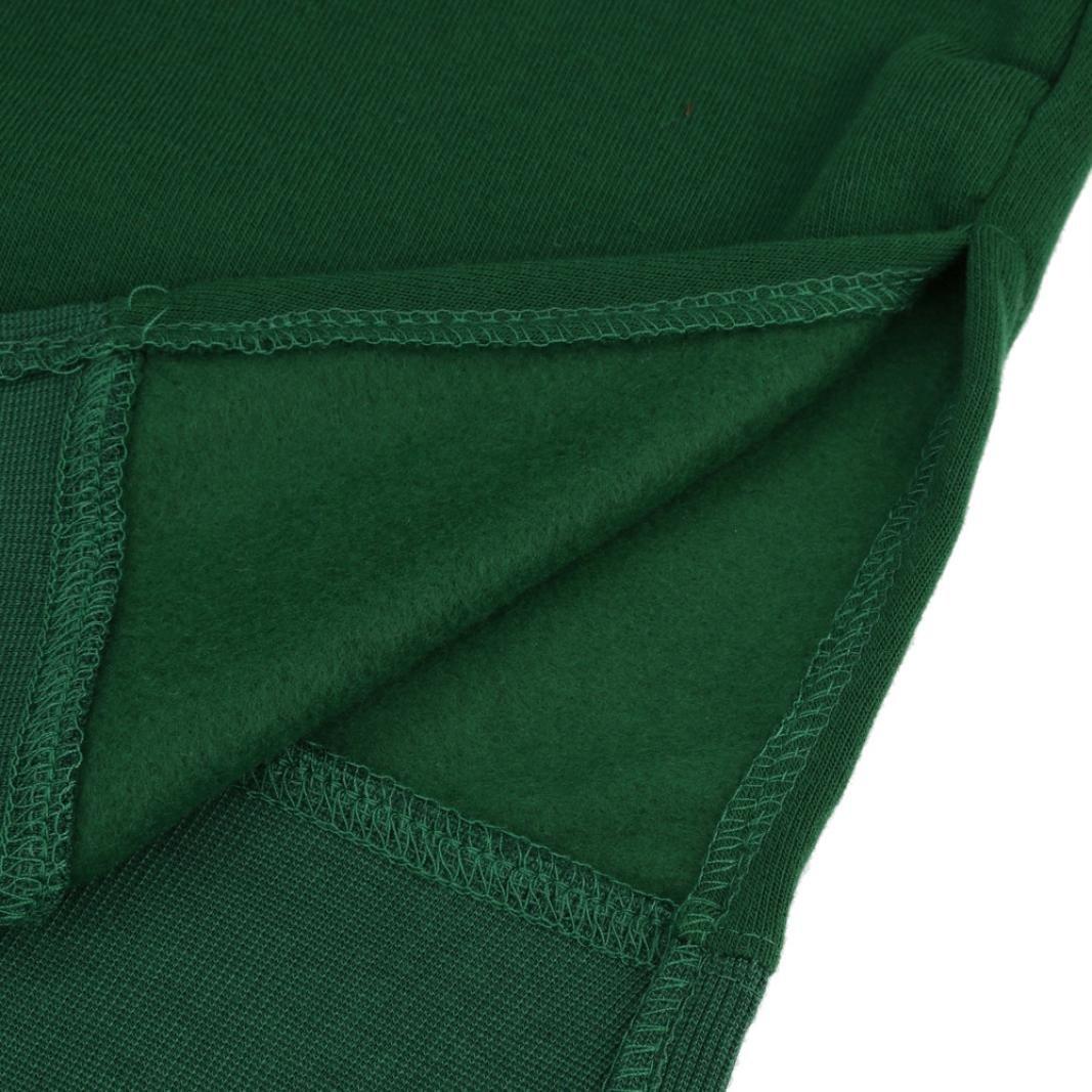 Women Blouse, Neartime Women Casual Hood Sweatshirt Hooded Ladies Long Pullover Tops (L5, Green) by NEARTIME (Image #6)