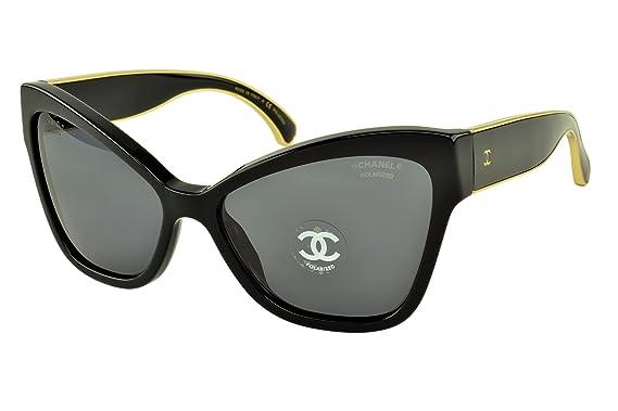 Amazon.com: Chanel CH5271 C622t8 polarizadas anteojos de sol ...