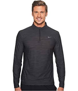 de34d6ee72c Nike Men's Breathe Dry Quarter Zip Long Sleeve Shirt