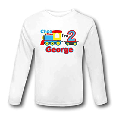 Choo Im 2 Birthday Train T Shirt Outfit Second