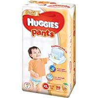 Huggies Gold Extra Large Pants,XL 12-17kg, 38 count