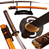 Shijian Samurai Swords Clay Tempered by 1095 Carbon Steel Folded 15 Times