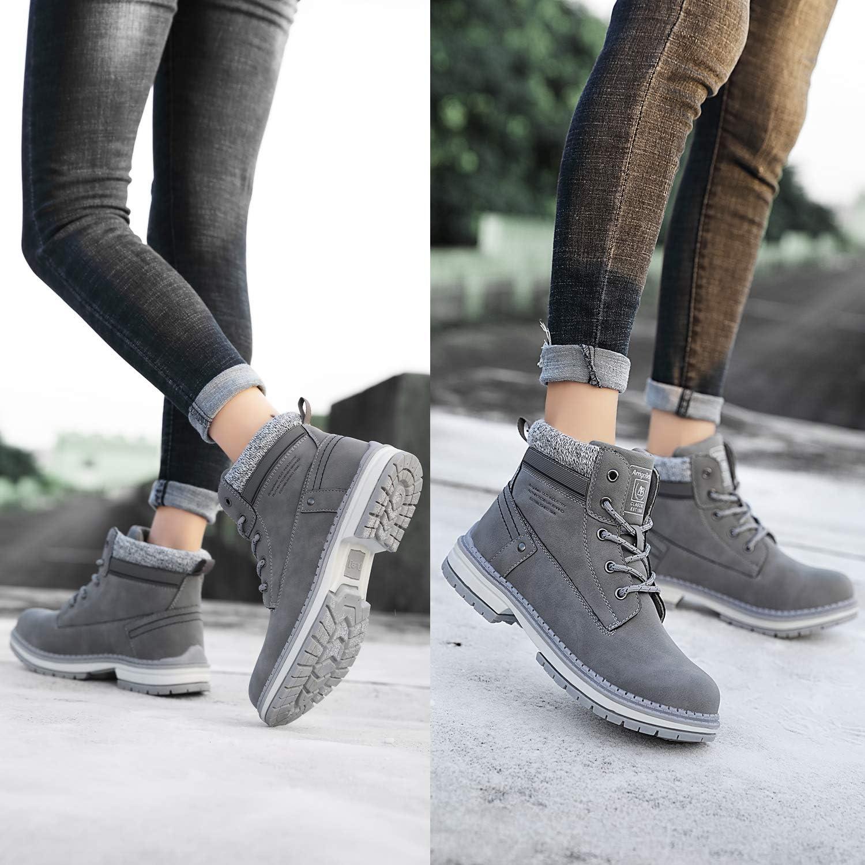 ARRIGO BELLO Bottes Femme Bottine Bottes de Neige Boots Hiver Chaussures Chaudes Fourrure Randonn/ée Les Loisirs 36-41