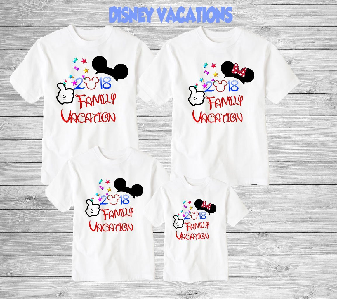 Disney Family Shirts Disney Shirts,Disney Family Shirts, Mickey, Minnie,Custom T-shirt,Personalized Disney Shirts for Family Shirts Matching