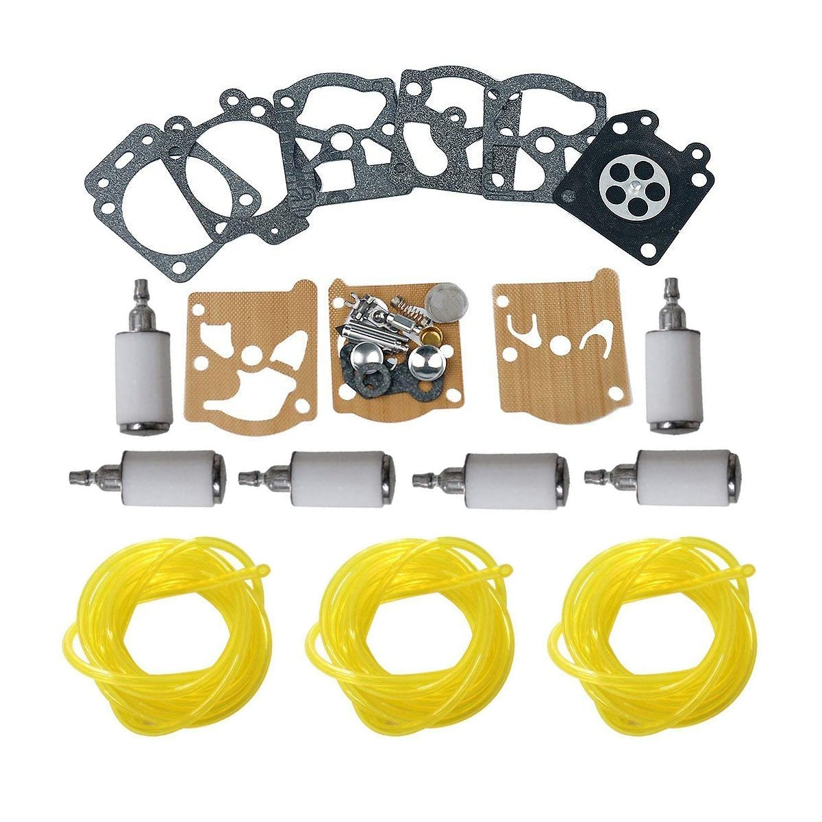 safercctv (TM) K20-WAT k20wat carburador Rebuild Kit con 3 ...