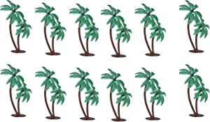 Palm Trees with Coconuts Cake/Cupcake Toppers - 12 pcs by Bakery Supplies