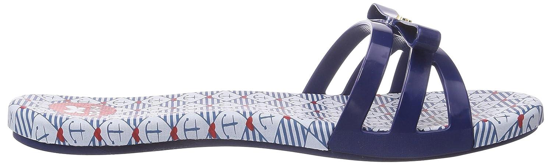 Zaxy Like Slide, Damen Pantoletten, Blau (Blue/White/Blue 90047), 35/36 EU