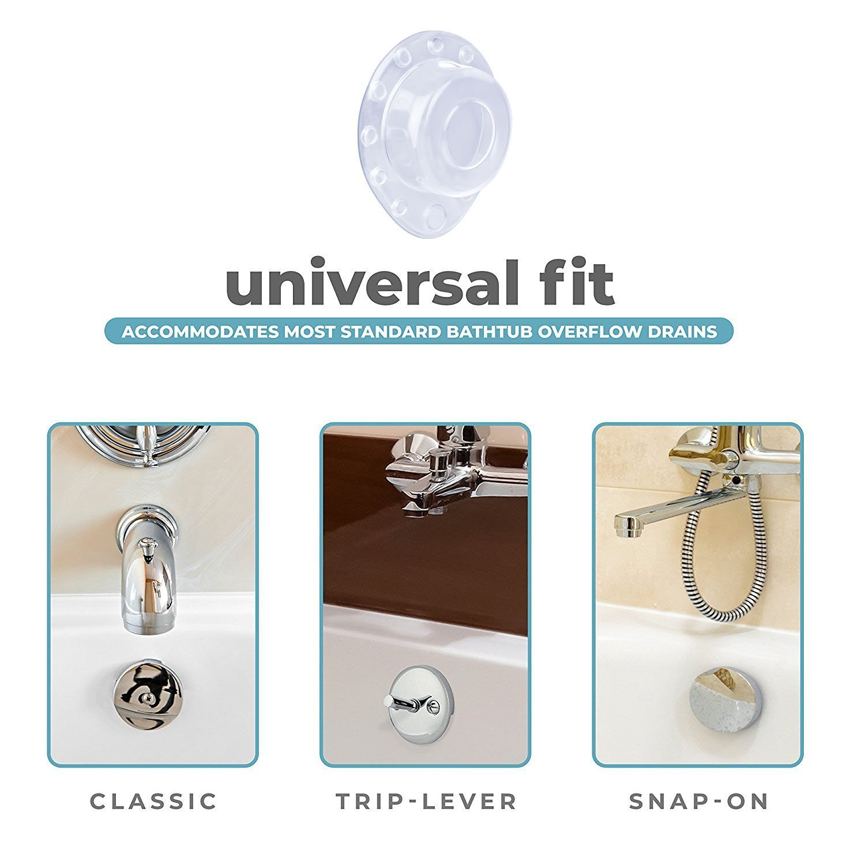Amazon.com: Oninaa Bathtub Overflow Drain Cover Plug, Drain Stopper ...