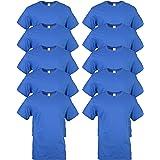 Gildan Men's Heavy Cotton T-Shirt, Style G5000, 10-Pack