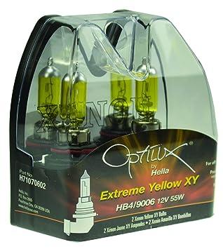 Amazon Optilux H71071462 XY Series 9006XS Xenon Yellow Halogen Bulb Set Automotive