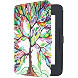 Fintie SlimShell Case for Nook GlowLight 3, Ultra Thin and Lightweight PU Leather Protective Cover for Barnes and Noble…