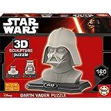 Educa - 16500 - Sculpture Puzzle 3D - Darth Vader - 160 Pièces