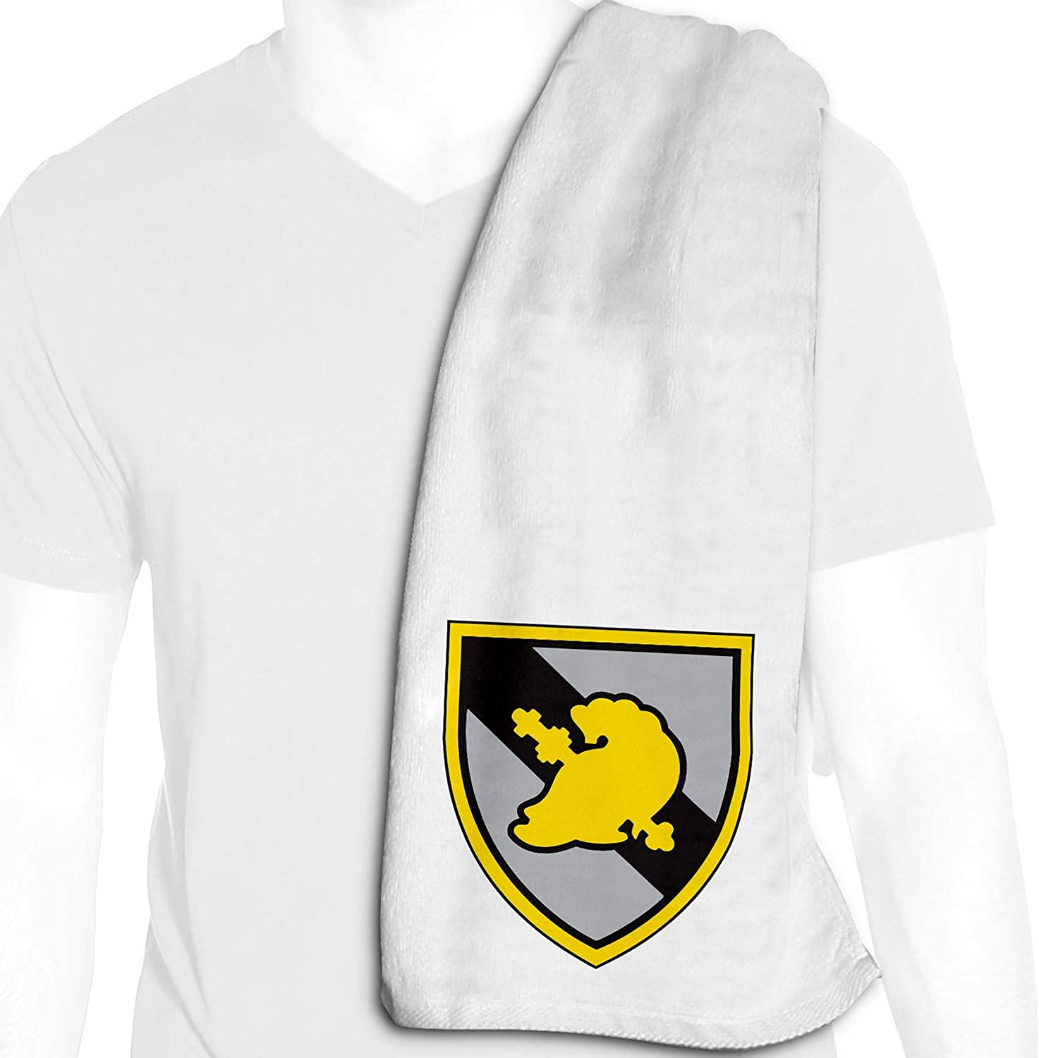 ExpressItBest Microfiber Cooling Towel - 12in x 36in - US Military Academies - Many Options