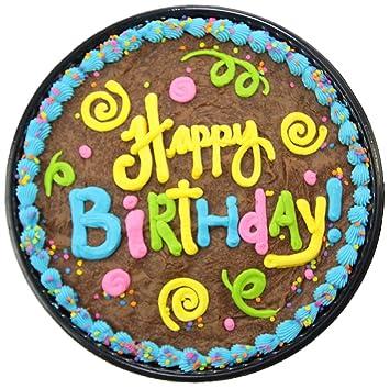 Triolos Bakery Chocolate Brownie Birthday Cake