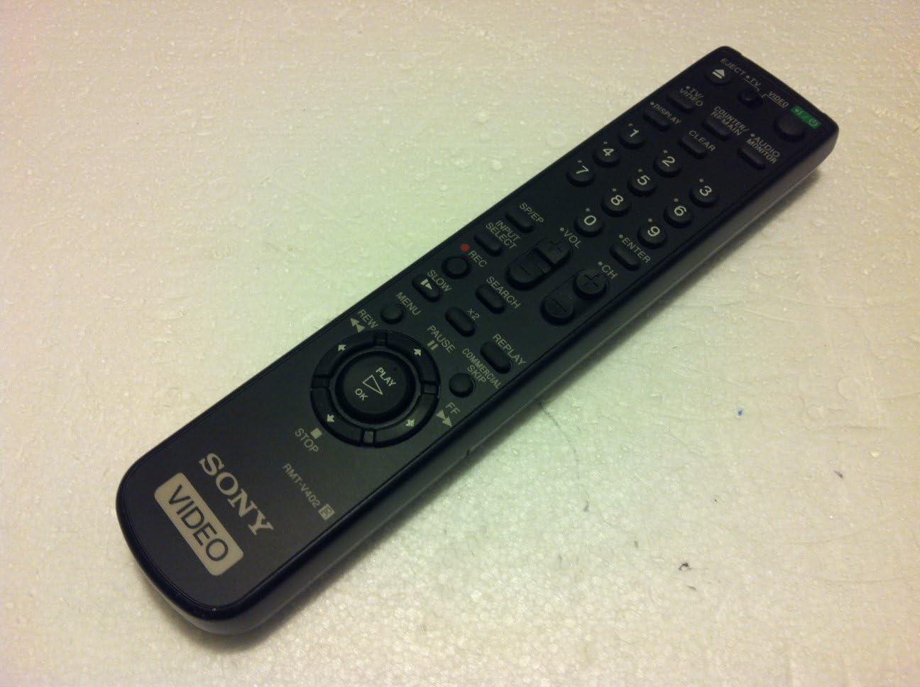 SLV-N77 SLV-N650 SONY Video RMT-V402 Remote Control SLV-N750