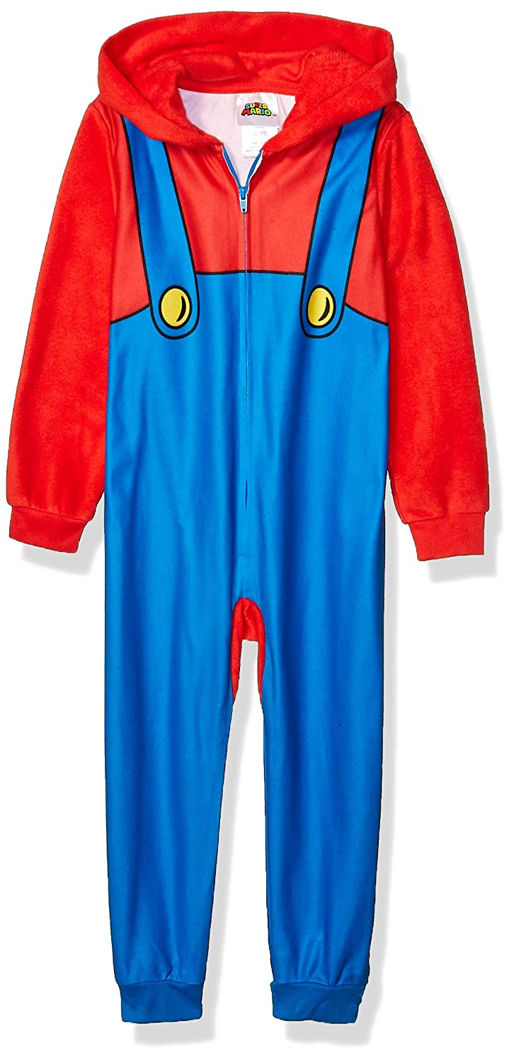 L Super Mario Boys Big Fleece Blanket Sleeper