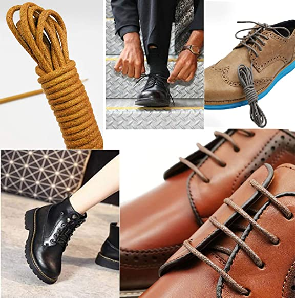 Round 2//3mm Shoe Laces For Shoes//Boots