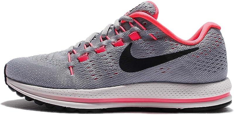 Nike Wmns Air Zoom Vomero 12, Zapatillas de Running para Mujer, Gris (Gris Loup/rouge Cocktail/rouge Gris Lave Brillant/platine Pur/noir), 35.5 EU: Amazon.es: Zapatos y complementos