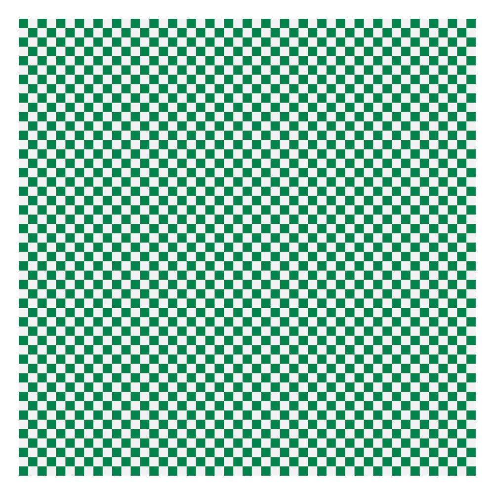 Hoffmaster 110857 Basket Liner/Sandwich Wrap, Green and White Check, 12'' x 12'' (Pack of 2000) by Hoffmaster