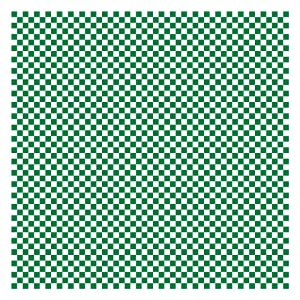 Hoffmaster 110857 Basket Liner/Sandwich Wrap, Green and White Check, 12