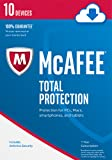 Software : McAfee 2017 Total Protection - 10 Devices [Online Code]