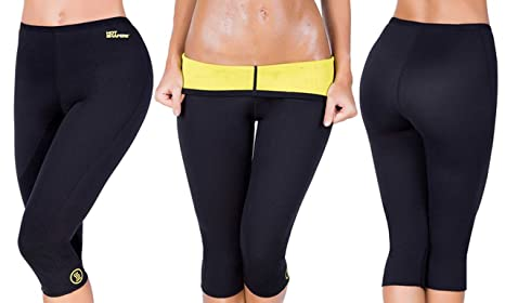 c43aa3b456 Buy Hot Sweating Body Shapers Pant Capri Slimming Belt Hot Sweat ...