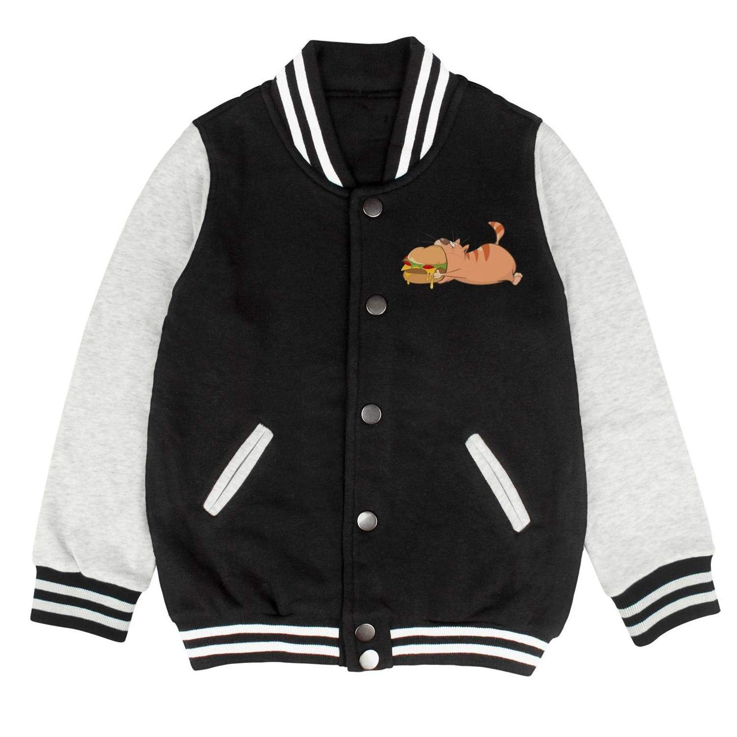 Real Men Love Cat Unisex Outerwear Jackets for Kids