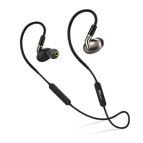 HIFI WALKER A7 Air Bluetooth Triple conductor Auriculares de alta definición con micrófono, control remoto