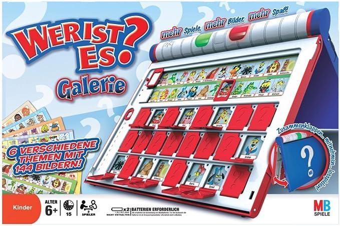 Juegos Infantiles Hasbro - ¿Quién Es Quién? Extra (versión en alemán) , color/modelo surtido: Amazon.es: Juguetes y juegos