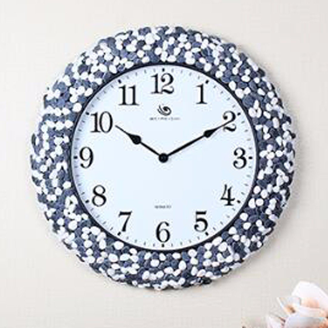 Wall Clocks Innotime Clock Clock Mute Quartz Clock Watch Personality Household Living Room Wall Clock Round,C