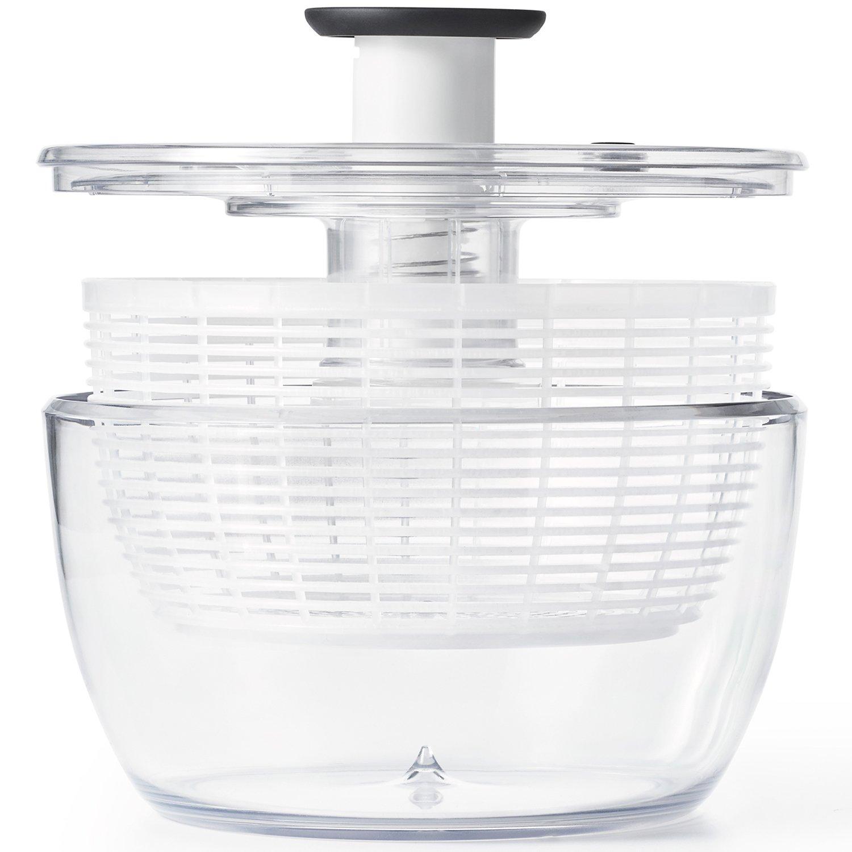 OXO(オクソー) サラダスピナー 野菜水切り器 大 丸型