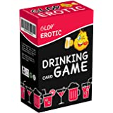 Glop Erotic - The Saucy Drinking Game - Fun Adult Drinking Game for Parties - Adult Board Game - Party Game - 100 Cards