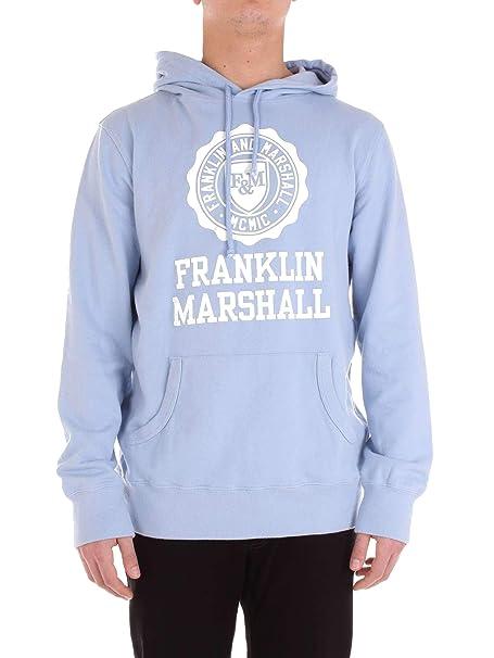 Franklin & Marshall Hombre Flmf055ans19lightblue Azul Claro Algodon Sudadera