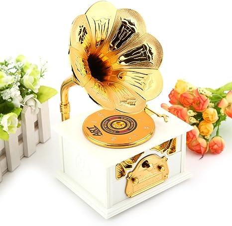 Caja de música Retro del fonófono del gram&