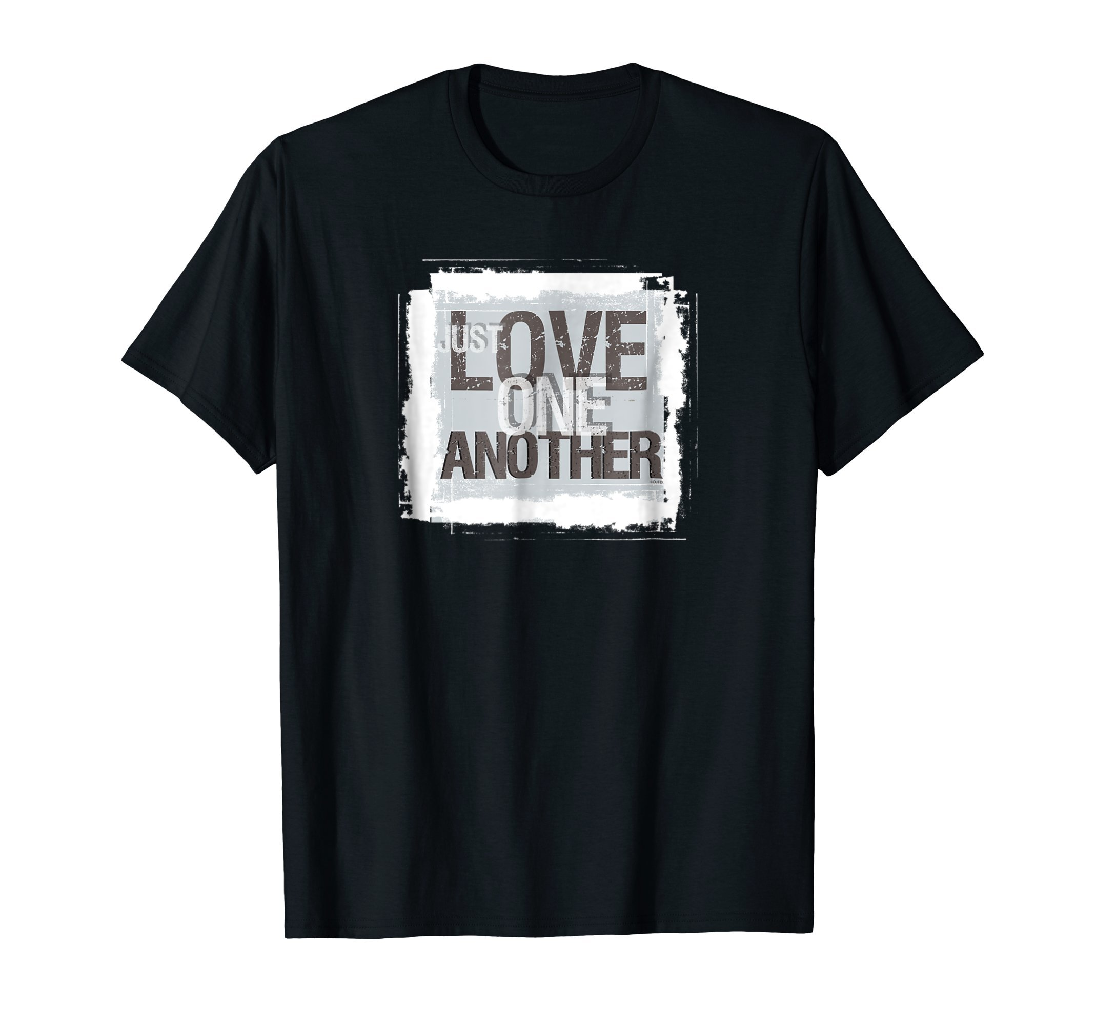 Just-Love-one-Another-Christian-T-Shirt-Tee-Shirt-Gift
