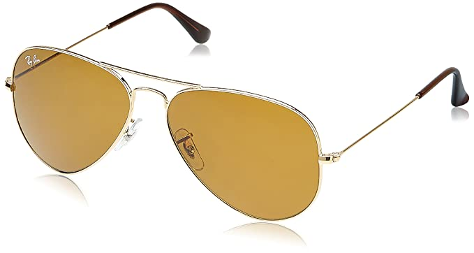 Ray-Ban 3025 001 33 Aviator Sunglasses, Arista Crystal Brown Mirror Silver  Gradient 0be9e8afa7
