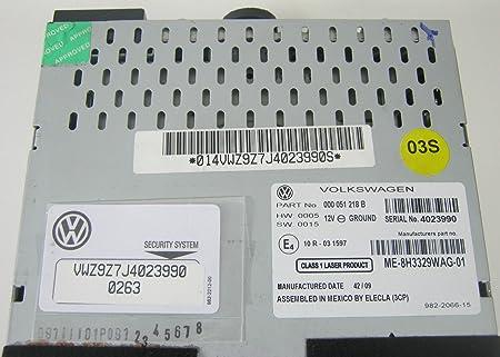genuine vw rmt 100 mp3 cd usb aux bluetooth stereo double din radio rh amazon co uk 1991 Volkswagen Passat Repair Manual Volkswagen Car Manuals