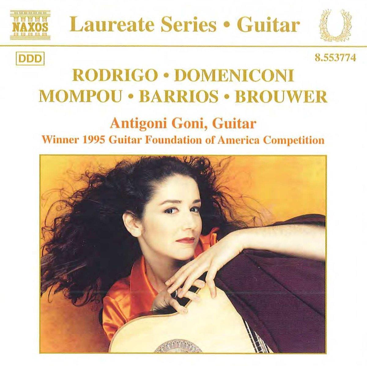 Antigoni Goni - Laureate Series- Guitar