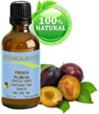 French PLUM KERNEL Seed Carrier Oil. 100% Pure / Natural / Undiluted / Virgin / Cold Pressed for Skin, Hair, Lip and Nail Care. Skin SuperFood. 1 oz- 30 ml. by Botanical Beauty