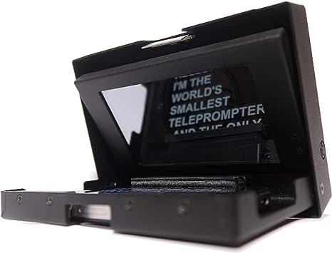 MicroPrompter - Televisor portátil Profesional más pequeño del ...